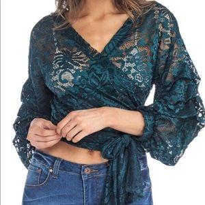 Day G Crochet Lace Blouse